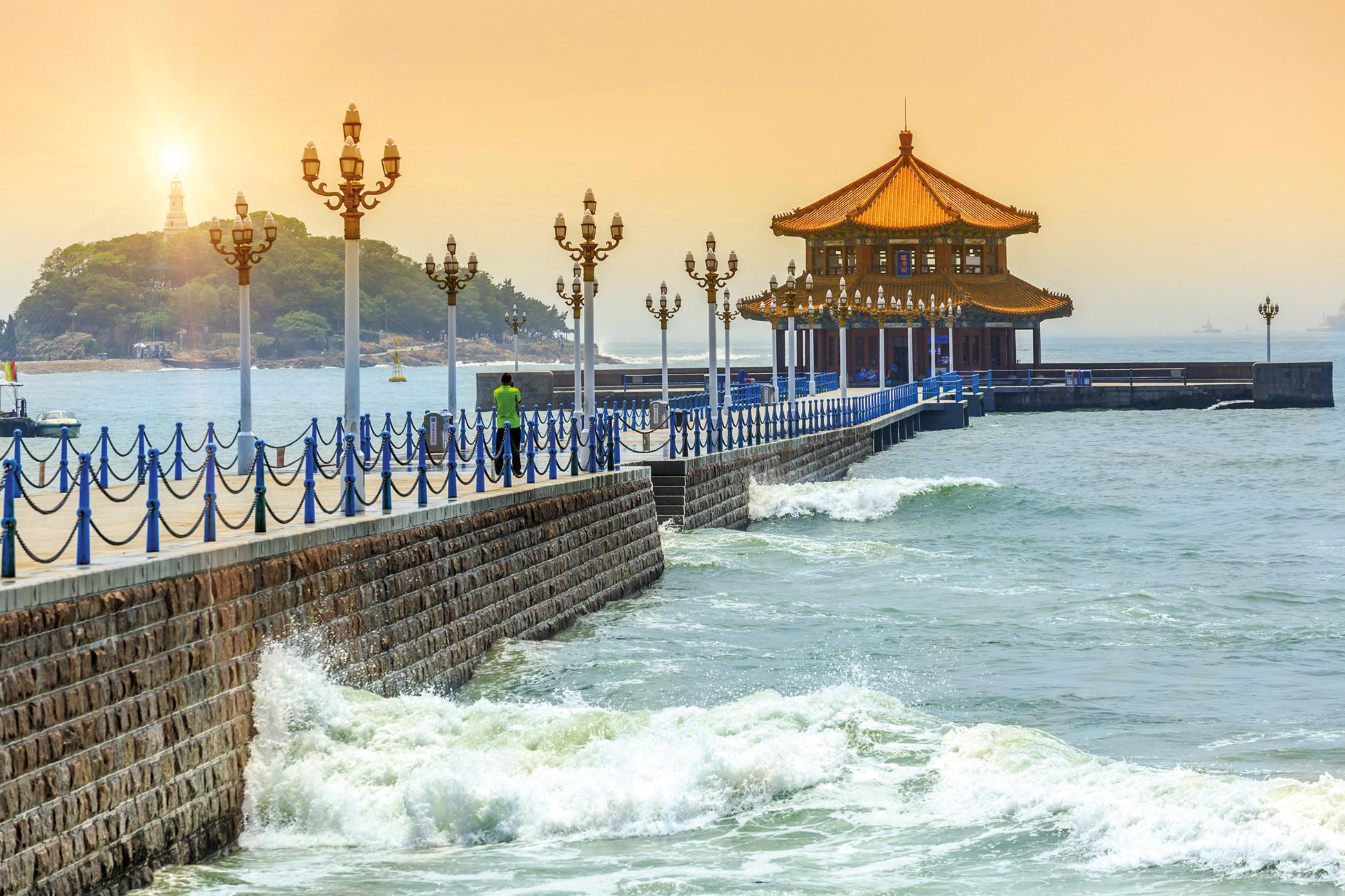 Достопримечательности Циндао, Китай