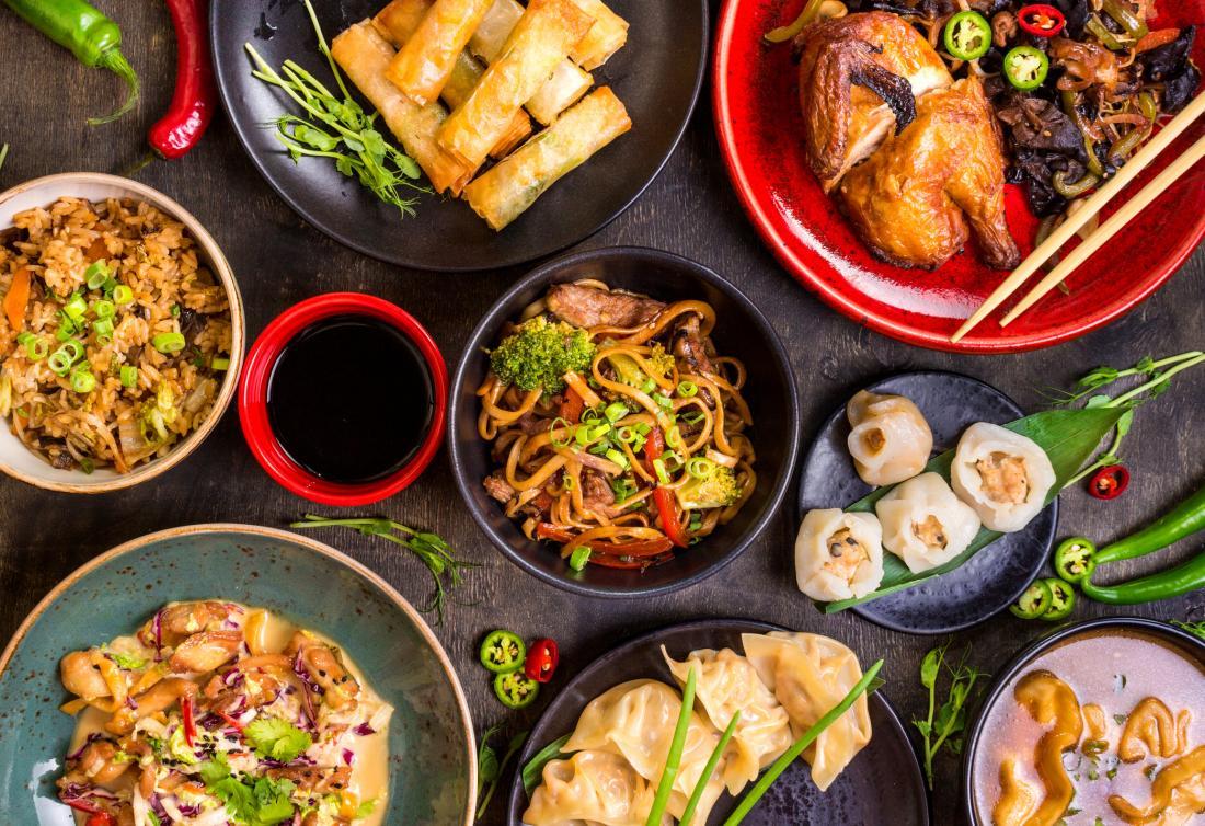 Национальные китайские блюда