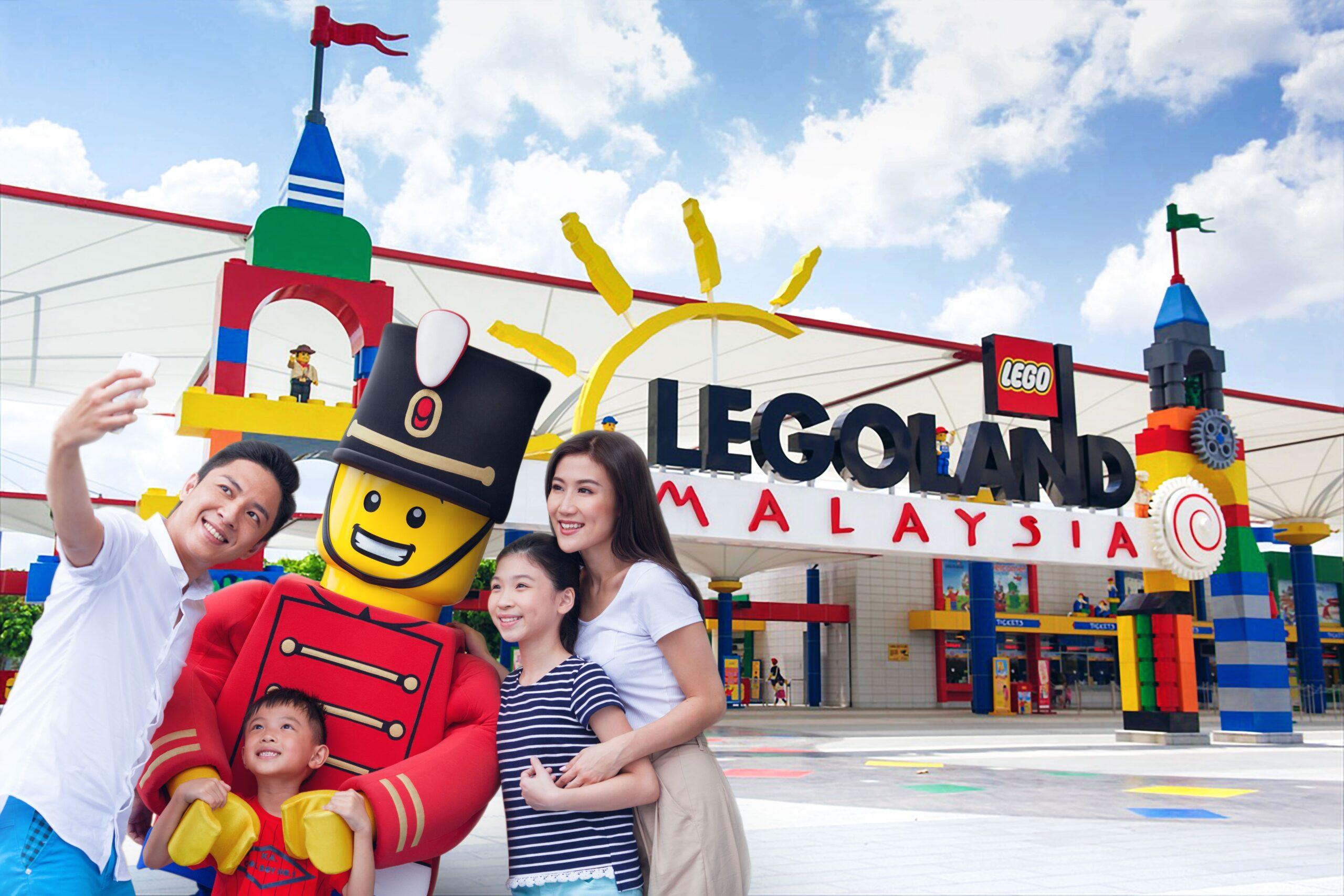 Парк развлечений для всей семьи Леголенд Малайзия
