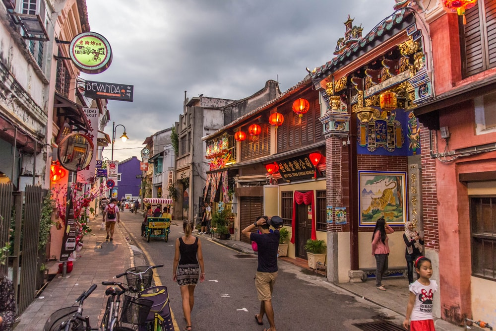 Чем заняться туристу в Джорджтауне, Малайзия