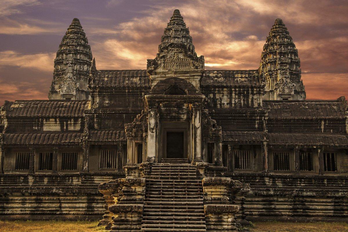 Ангкор Ват для туристов, Камбоджа