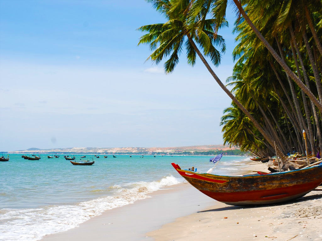 Остров Фатьет во Вьетнаме