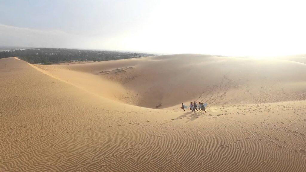 Фатьет, Вьетнам - розовые дюны