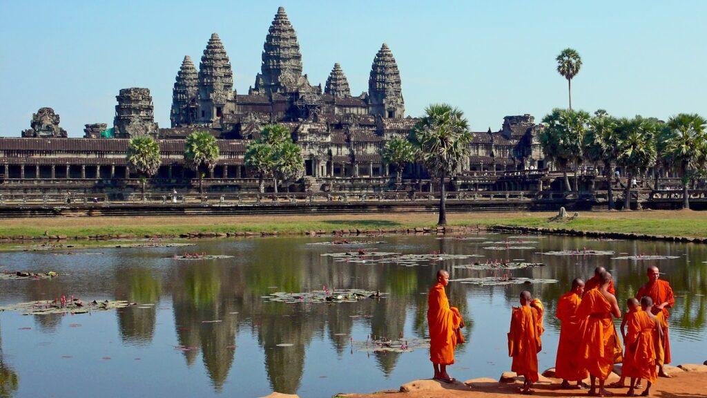 Достопримечательности Камбоджи - Ангкор Ват