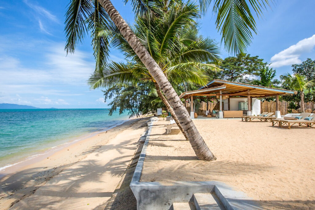 Семейный пляж Банг По на острове Самуи в Таиланде