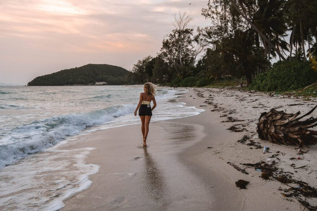 Пляж Тонгсон в Таиланде на Самуи