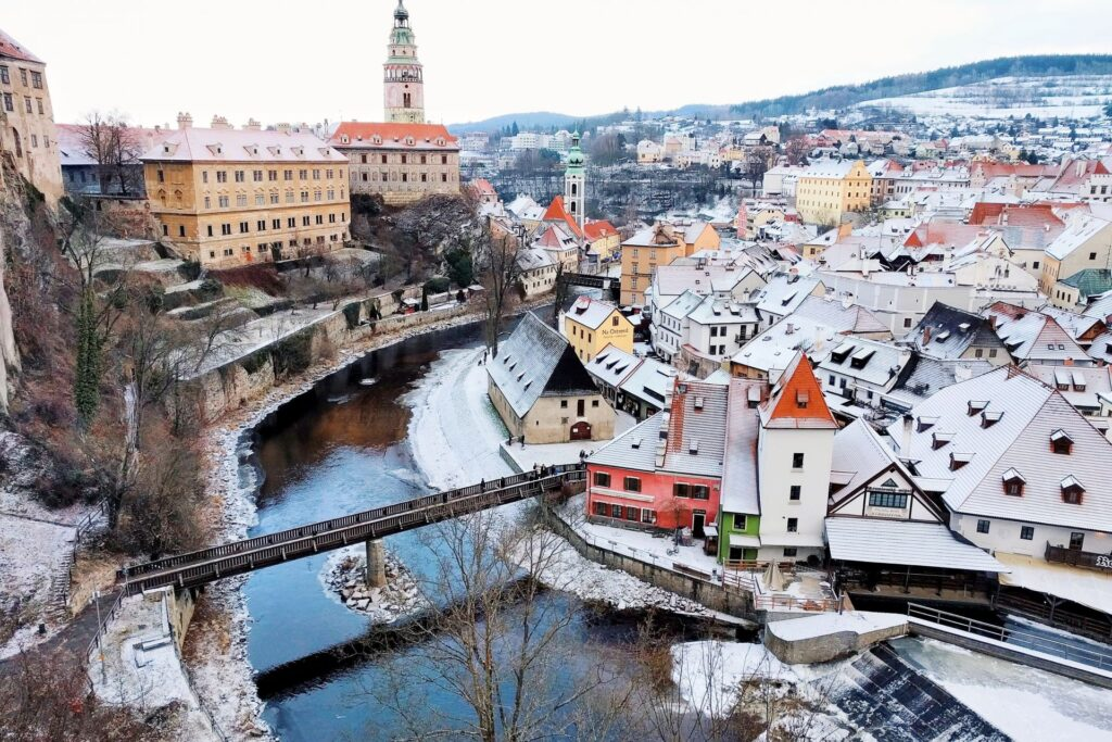 Как добраться до Чески Крумлова в Чехии