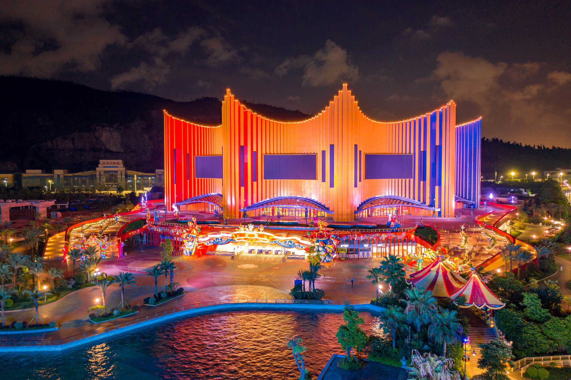 Парки развлечений в Гуанчжоу (Китай);  Chimelong Paradise