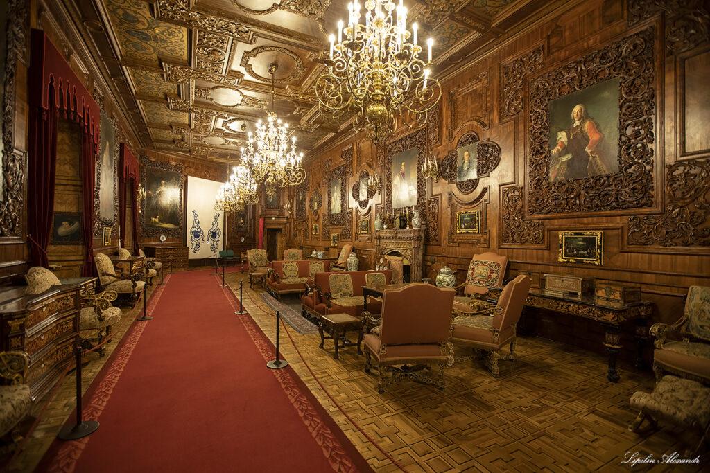 Интерьеры замка Глубока-над-Влтавой