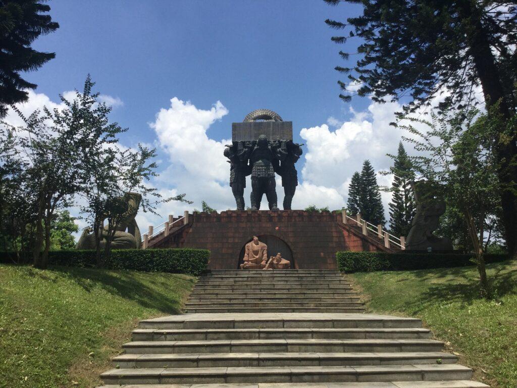 Парк скульптур в Гуанчжоу (Китай)