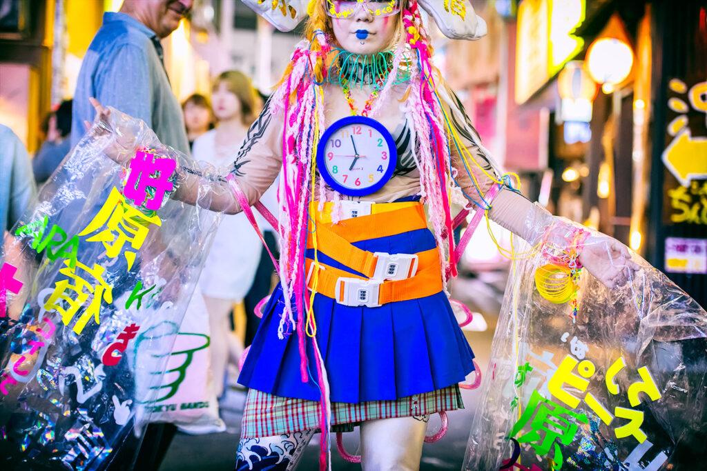 Уличная мода Харадзюку в Токио