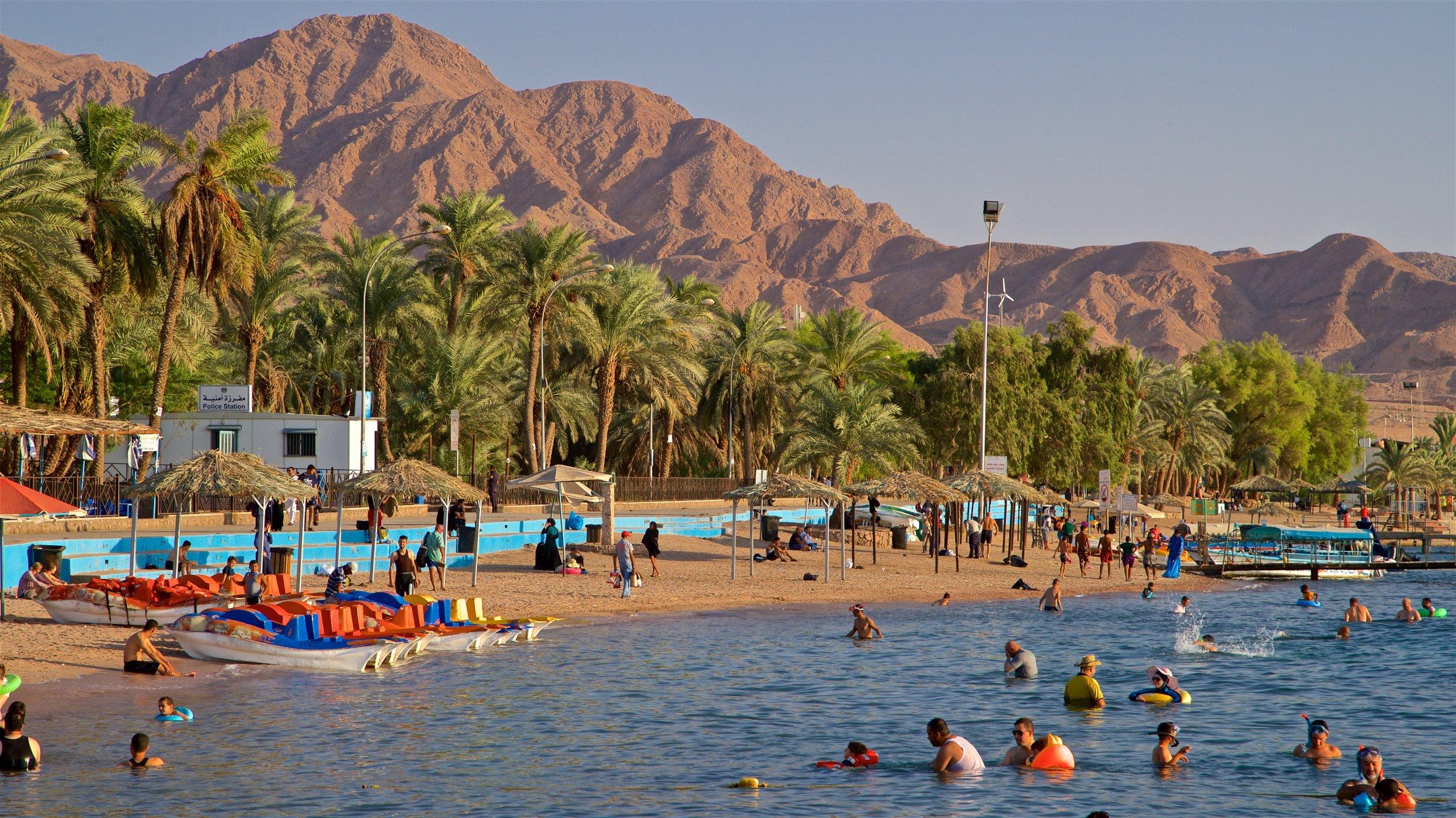 Лучшие пляжи Иордании