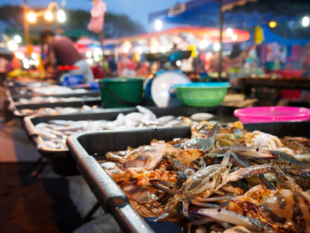 Рынок для туристов на Лангкави