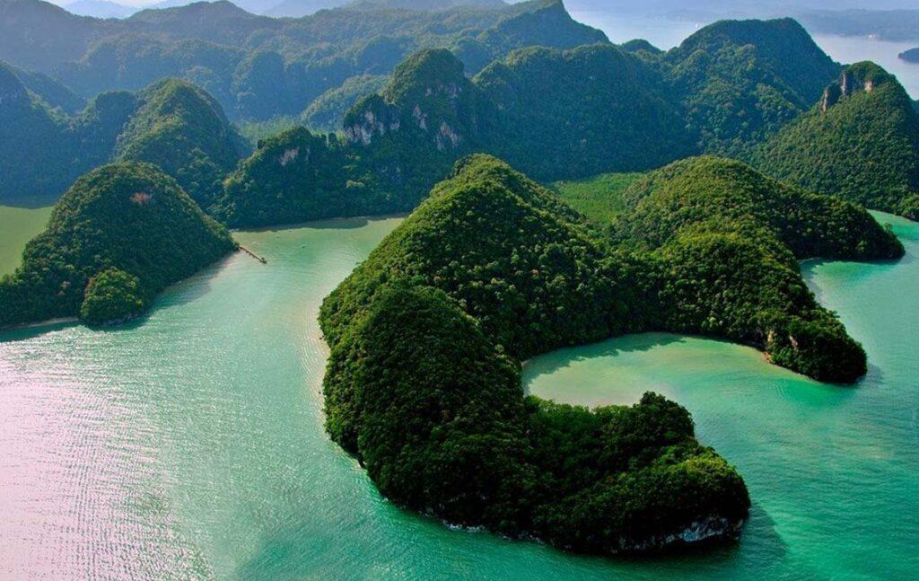 Достопримечательности острова Лангкави в Малайзии