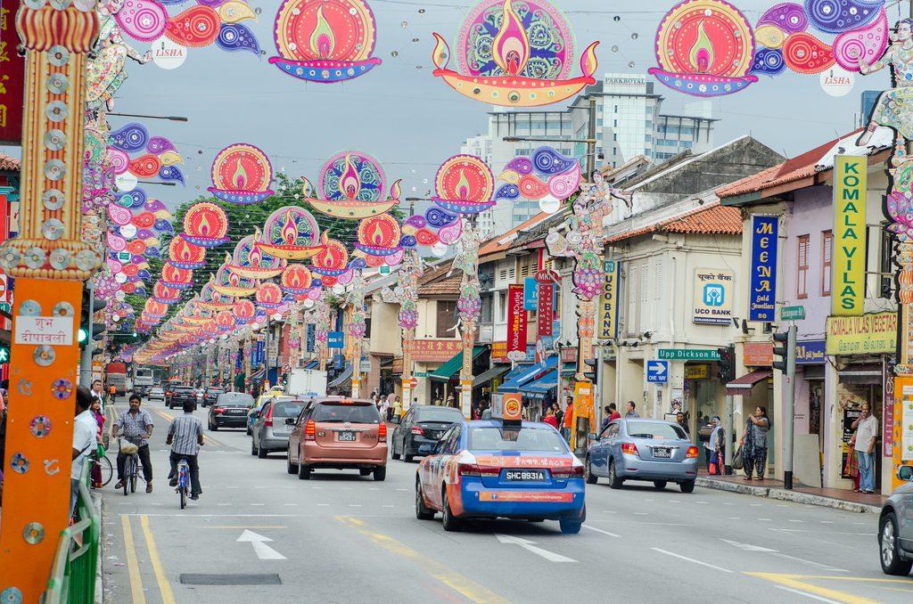 Индийский квартал в Сингапуре