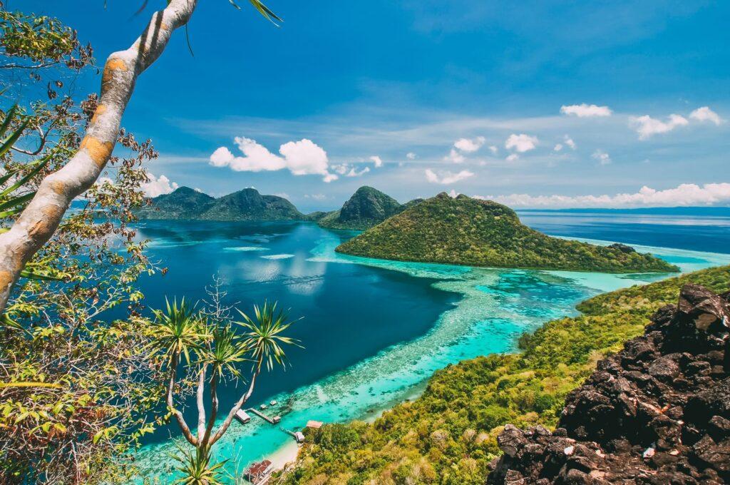 Остров Богдая в Малайзии