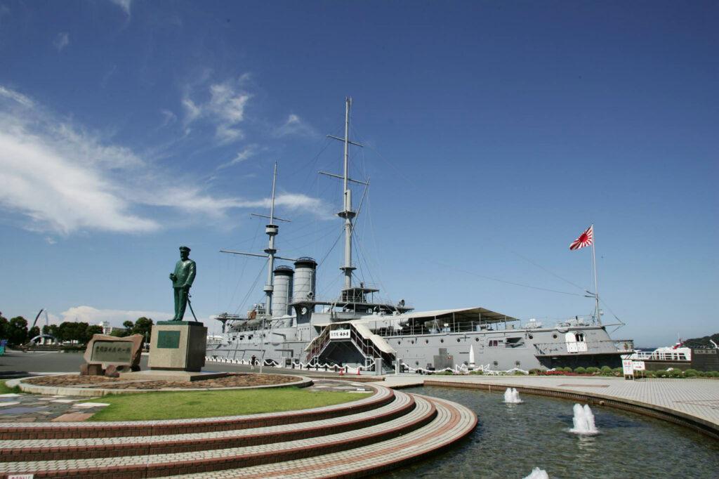 Достопримечательности Камакуры - Memorial Ship MIKASA