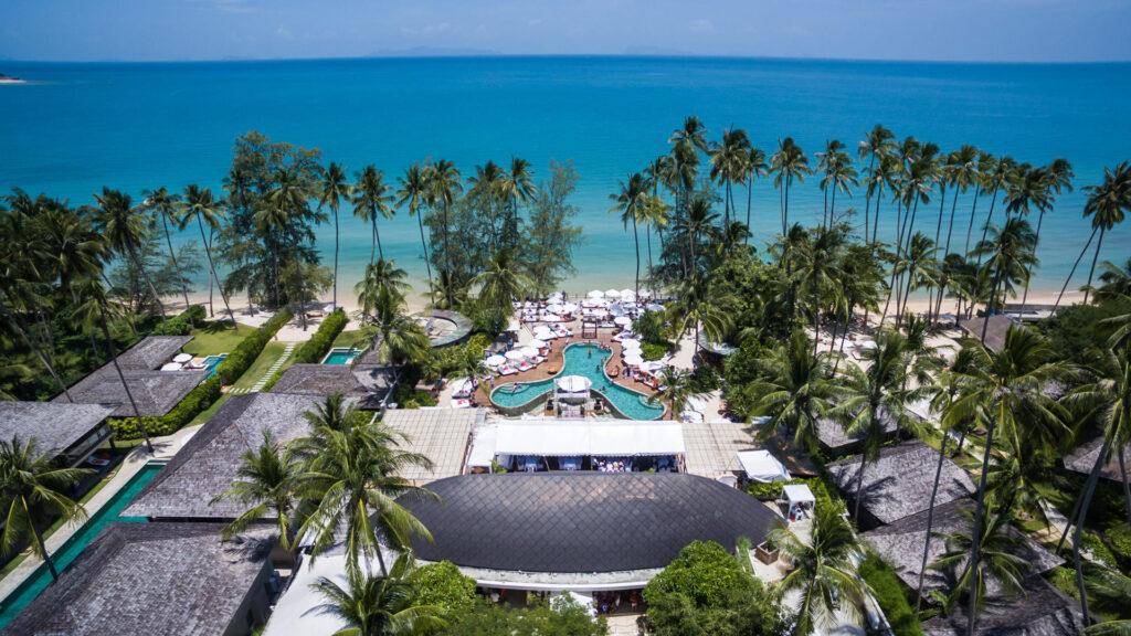 Отель на пляже Липа Ной в Таиланде