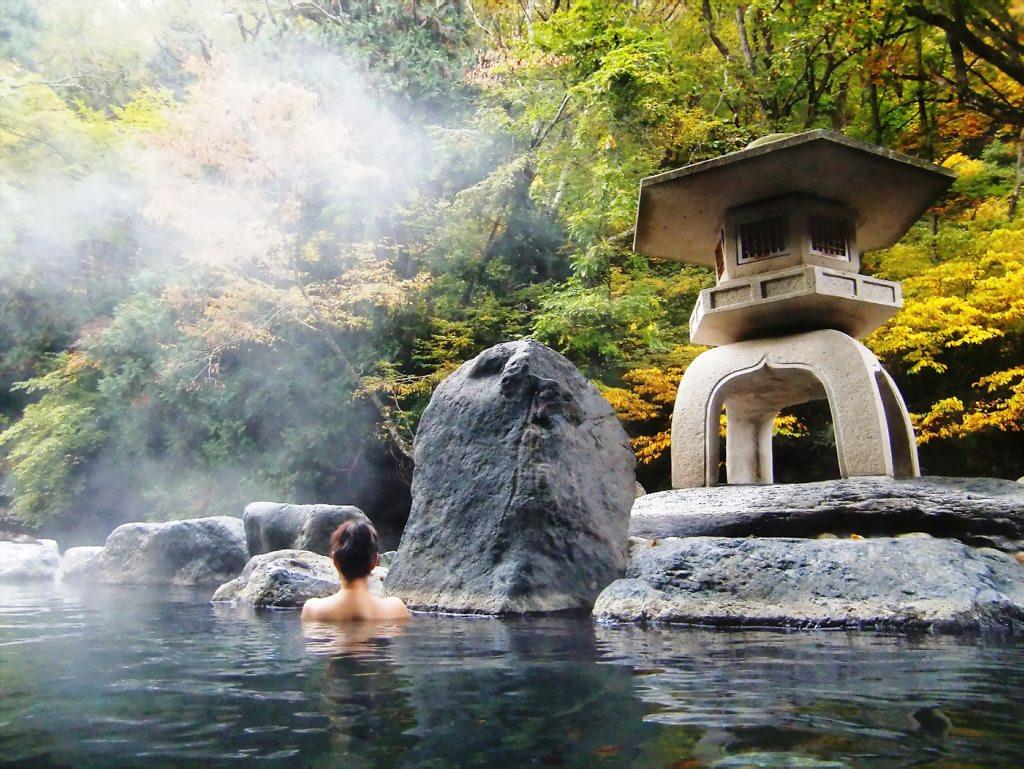 Отдых на термальных источниках в Японии