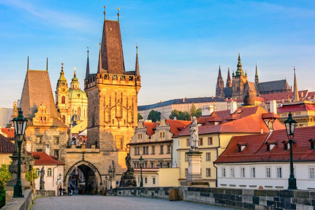 Крепость Пражский Град в Праге (Чехия)