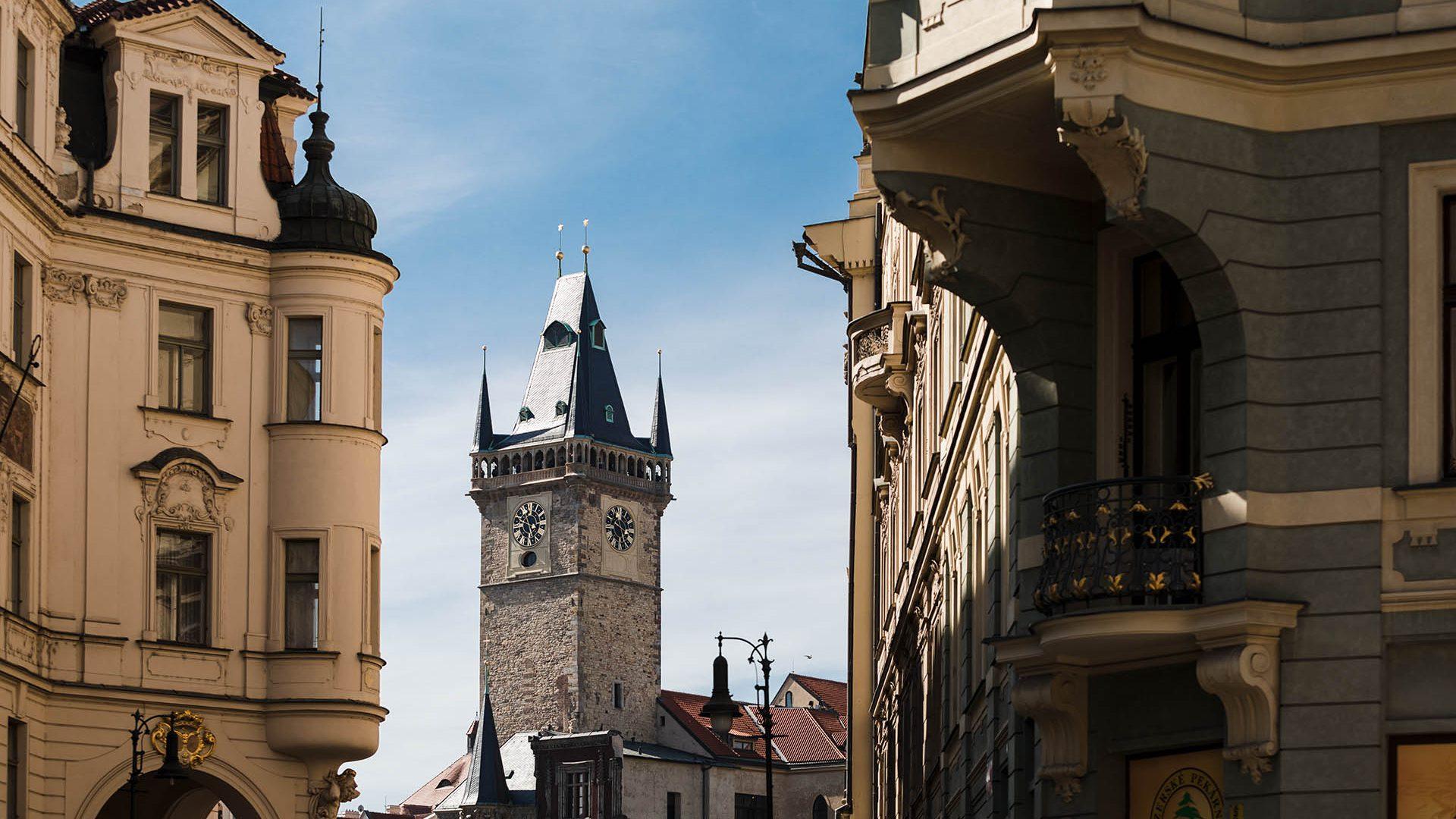 Старый город в Праге (Чехия)