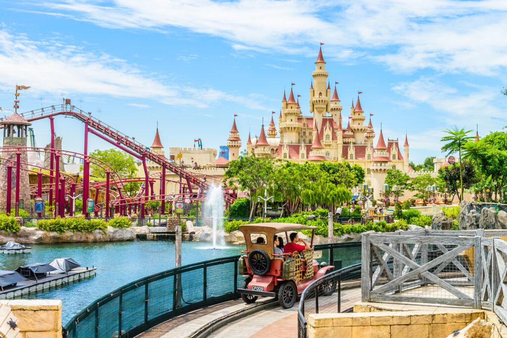 Universal Studios парк в Синргапуре