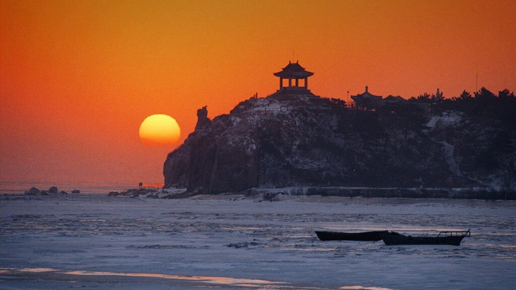 Отдых в Бэйдайхэ в Китае