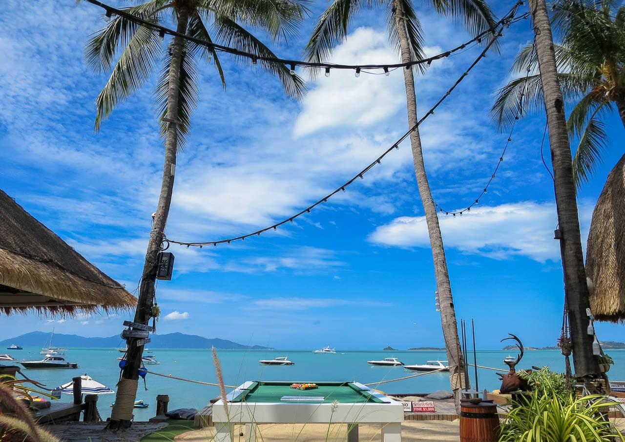 Пляж Бопхут в Таиланде на Самуи