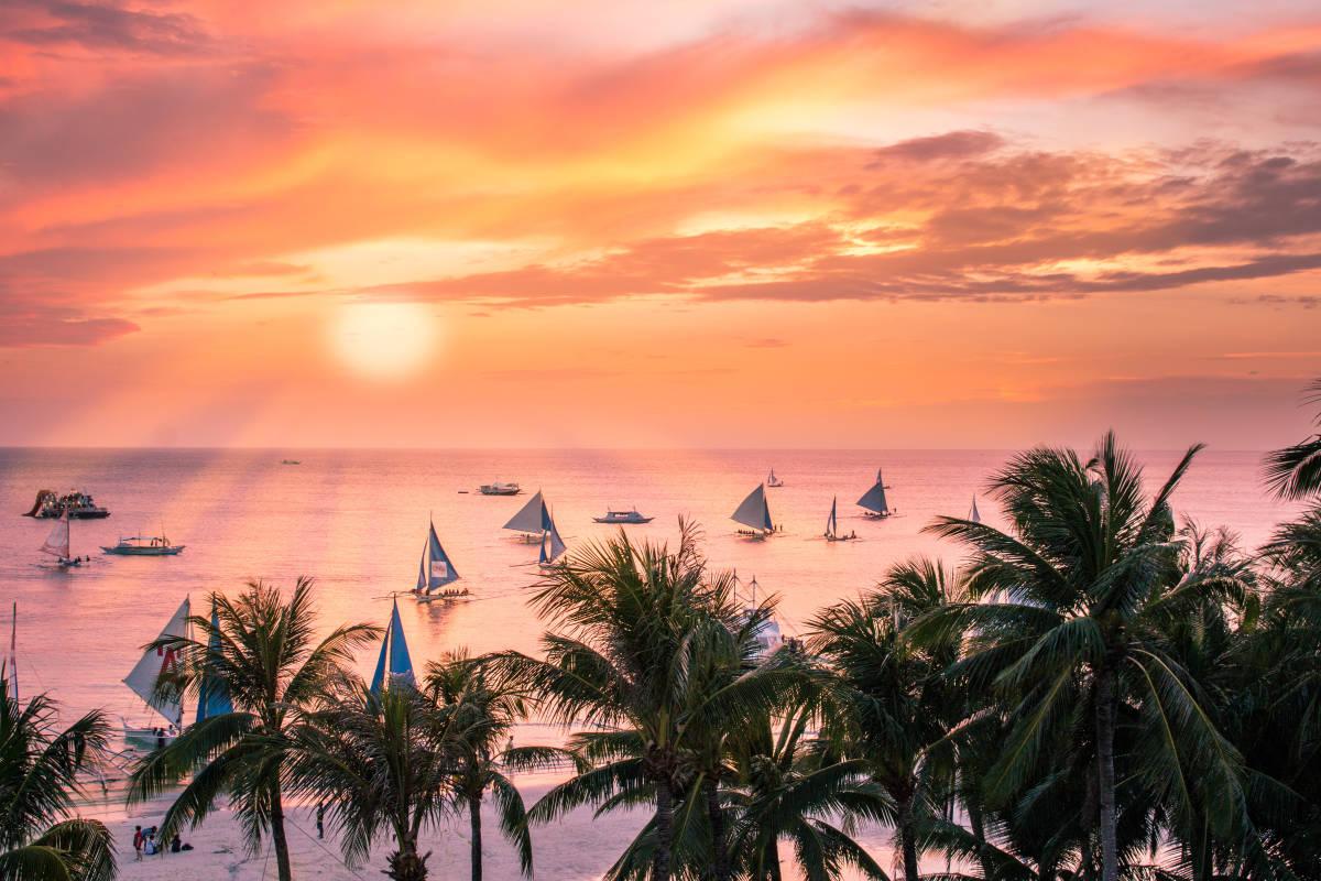 Достопримечательности острова Боракая на Филиппинах