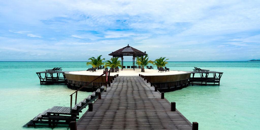 Отель на Острове Борнео в Малайзии