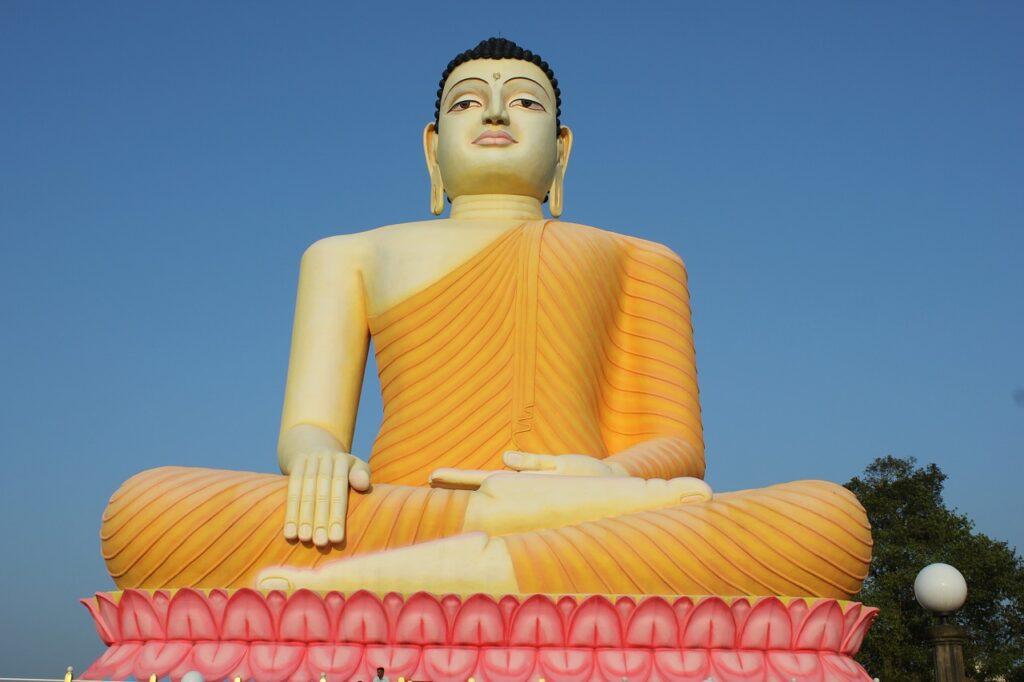 Буддийский храм на шри-Ланке