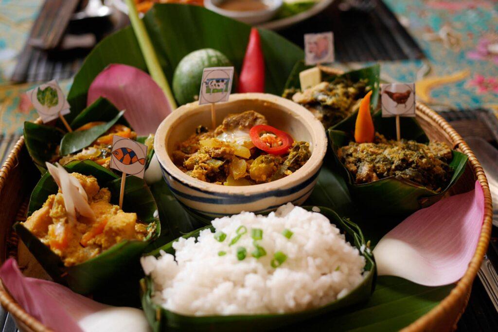 Национальная еда в Камбодже