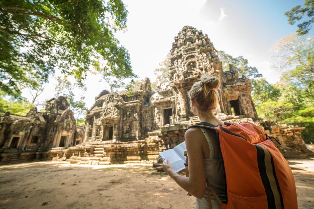 Правила поведения для туристов в Камбодже