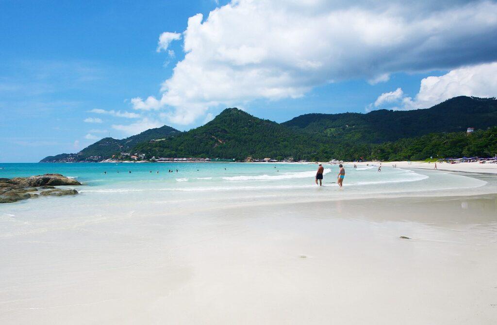 Пляж Чавенг на острове Самуи в Таиланде