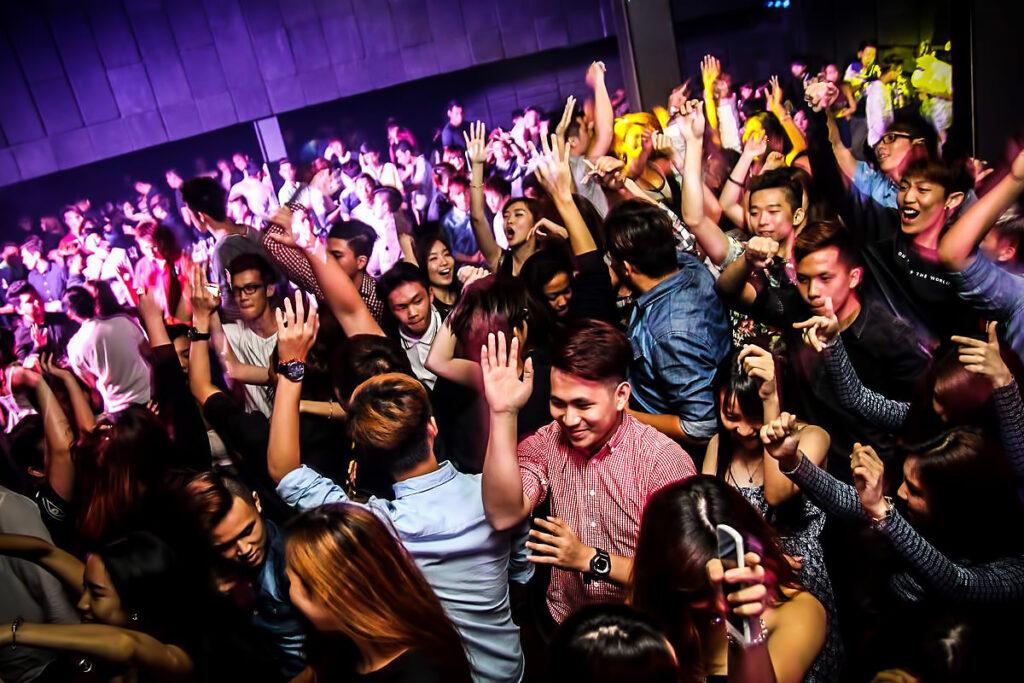 Ночной клуб в Куала-Лумпуре