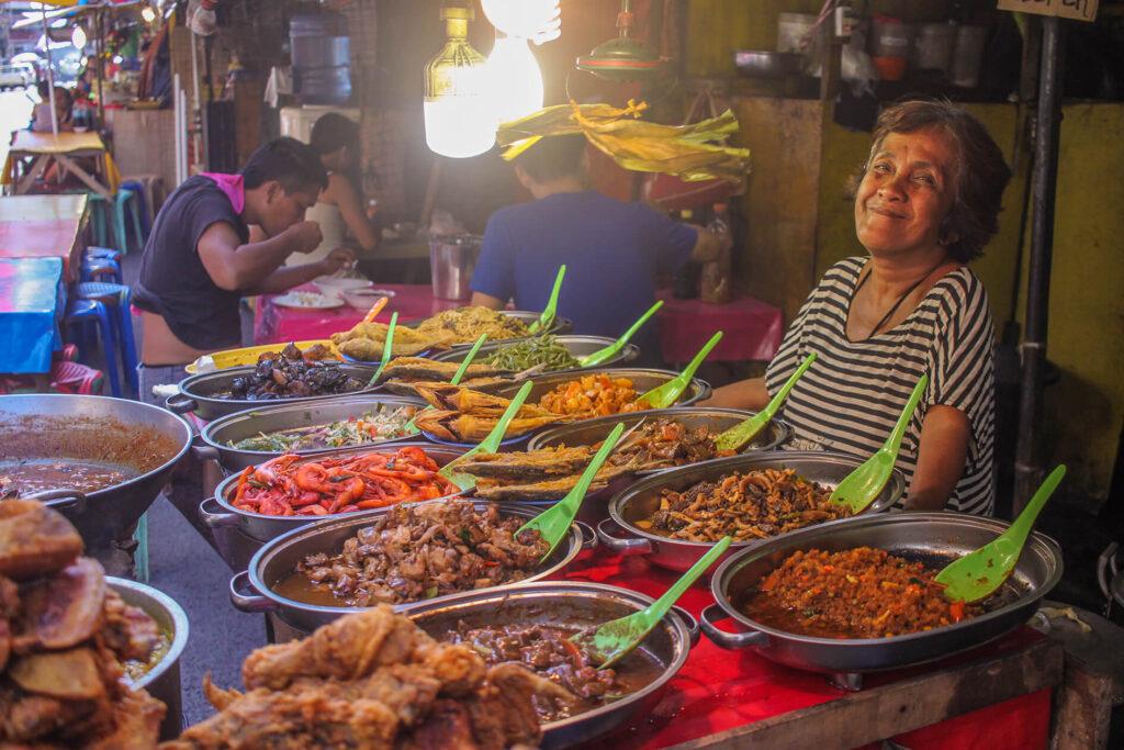 Уличная еда на Филиппинах