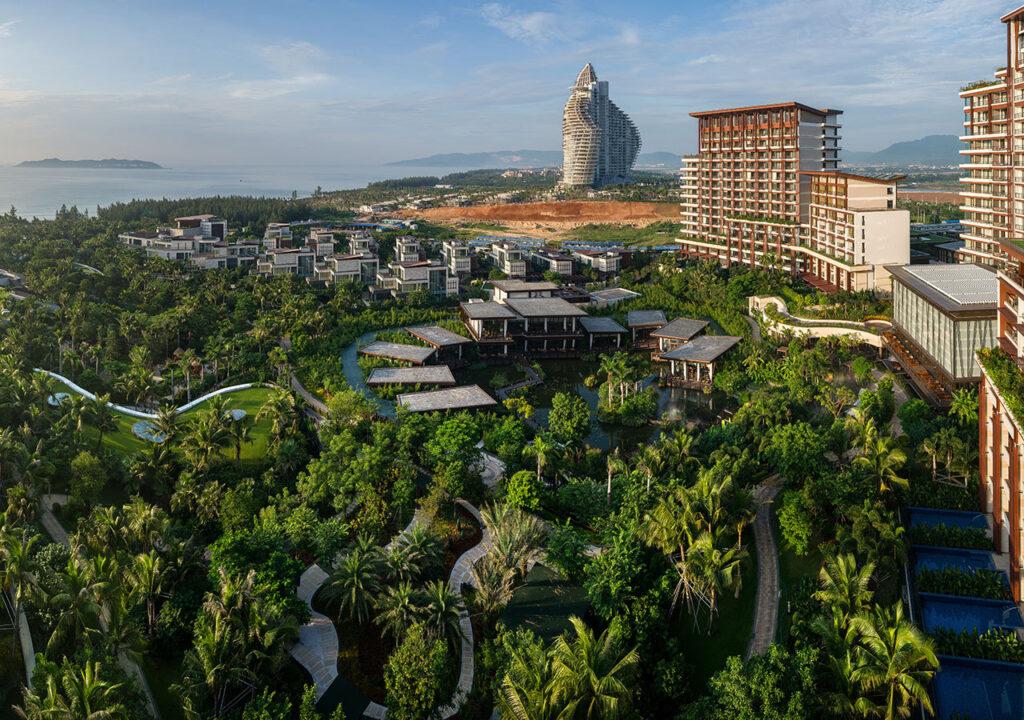 Курорт Хайтан в Китае