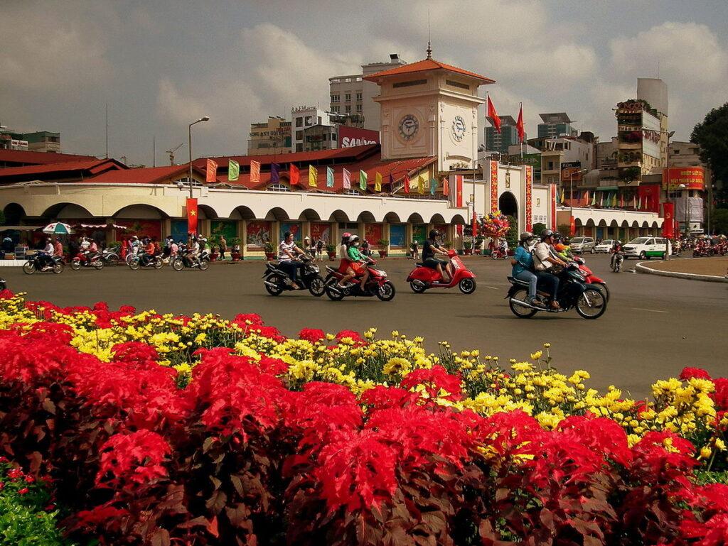 Улицы Хошимина, Вьетнам