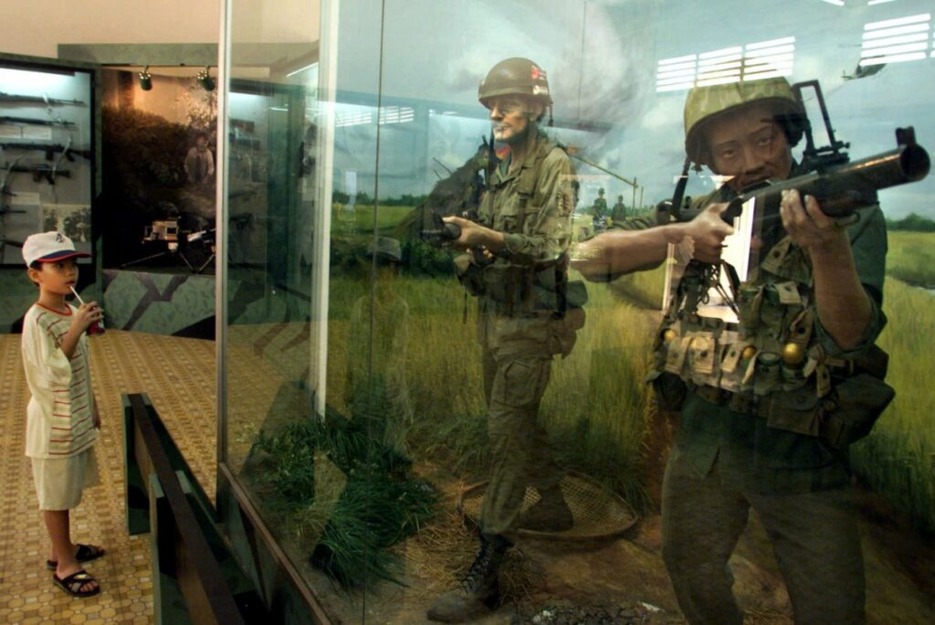 Музей военных преступлений в Сайгоне, Вьетнам