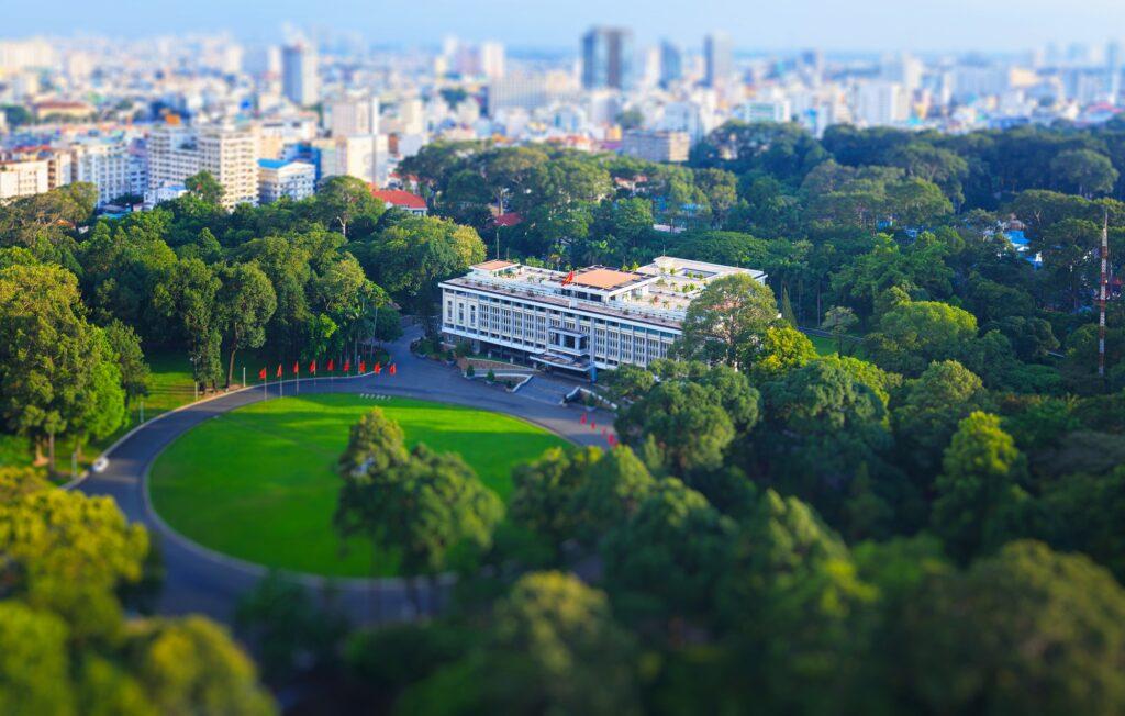 Хошимин и его интересные места - Дворец Независимости