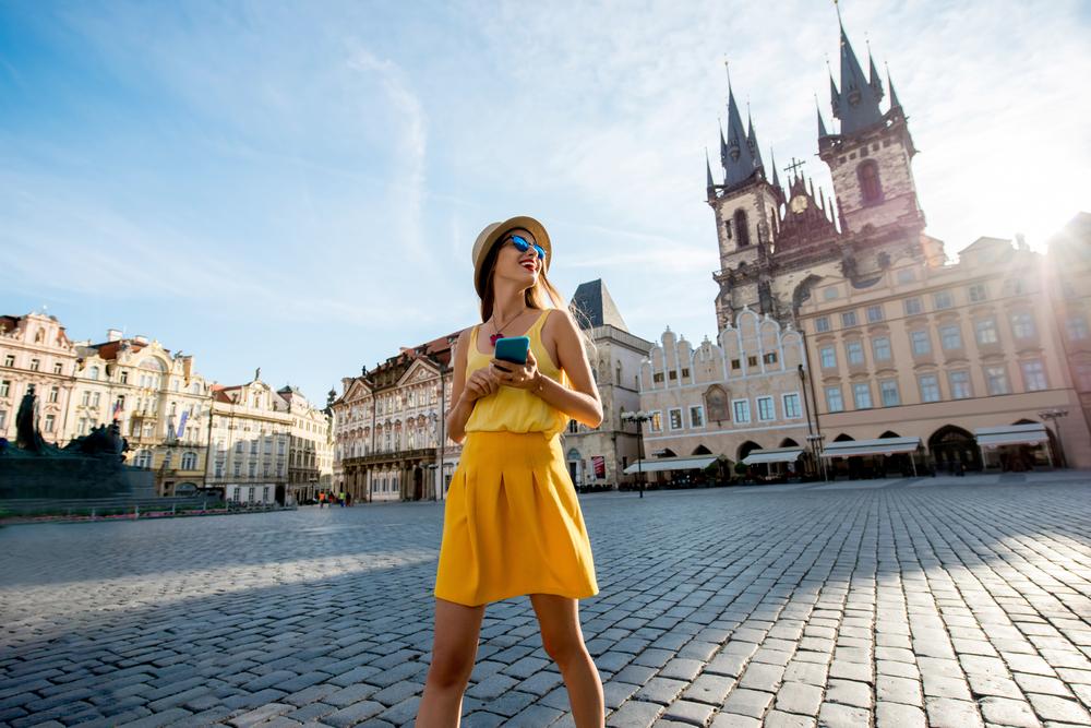 Связь и интернет для туриста в Праге