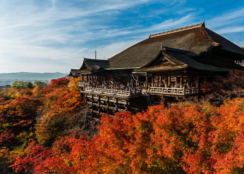 Достопримечательности Киото Япония