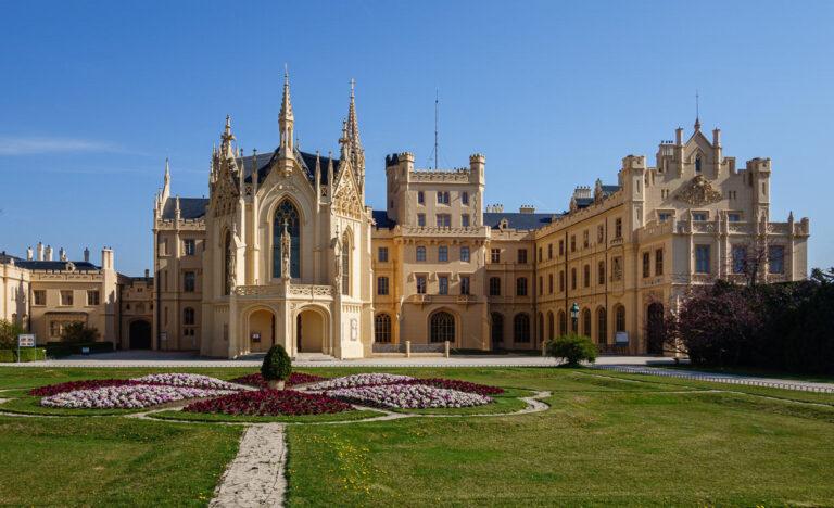 Замок Леднице в Чехии