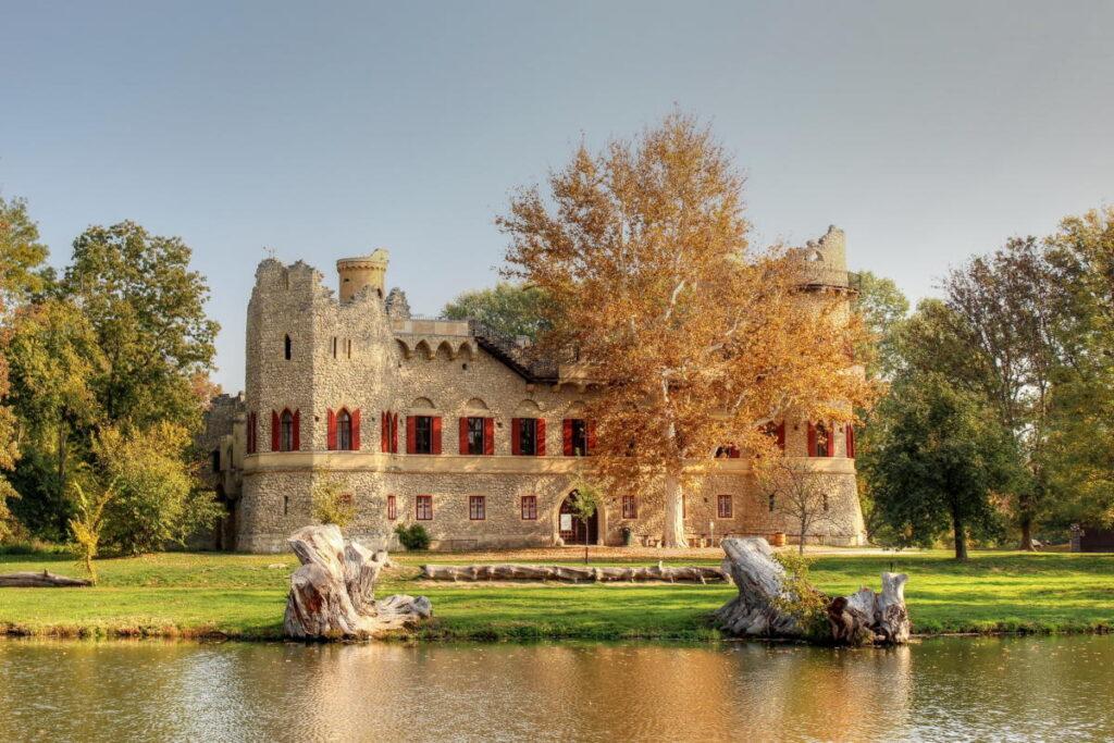 Достопримечательности замка Леднице в Чехии