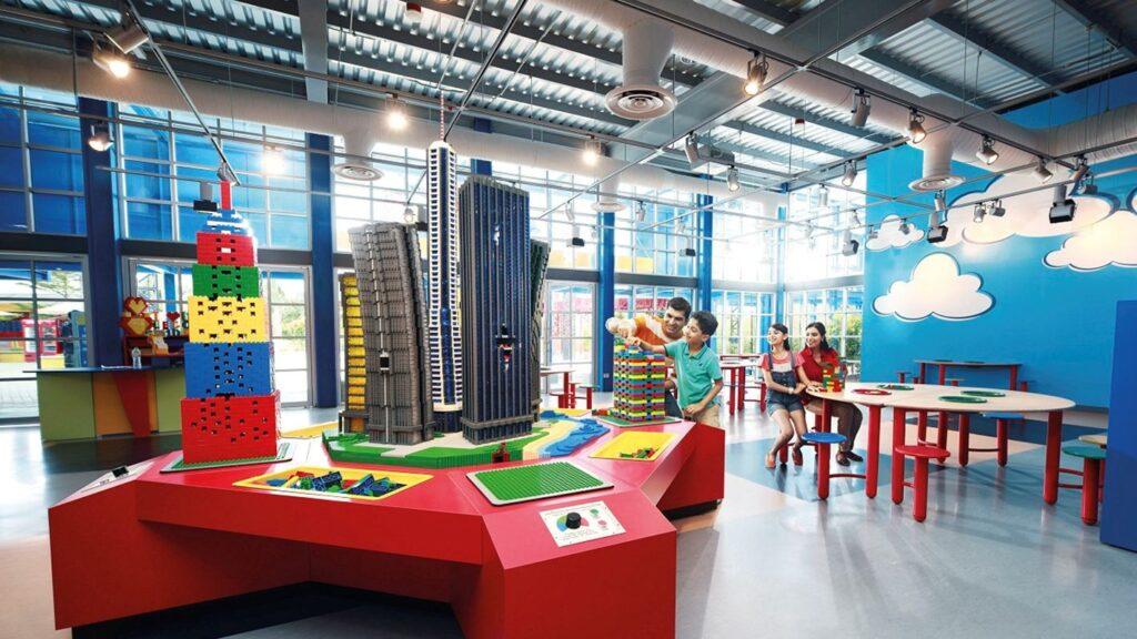 Развлечения для детей в парке Легоденд Малайзия