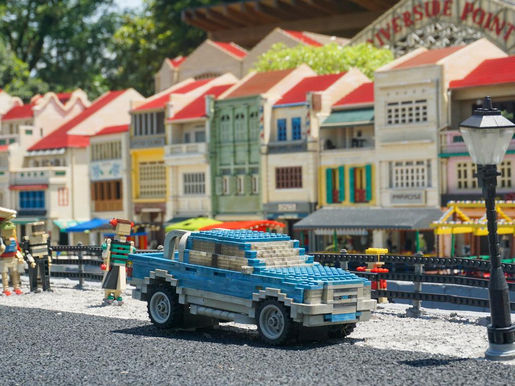 Лего Сити в парке развлечений в Малайзии