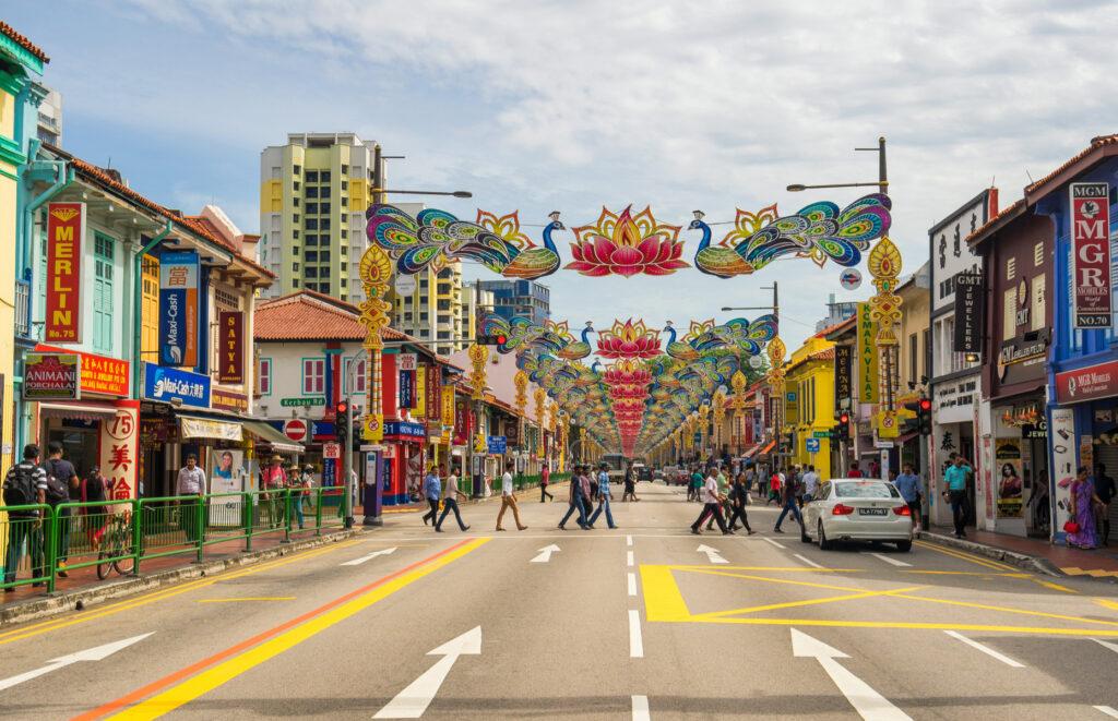Сувениры и подарки в Сингапуре в Little India