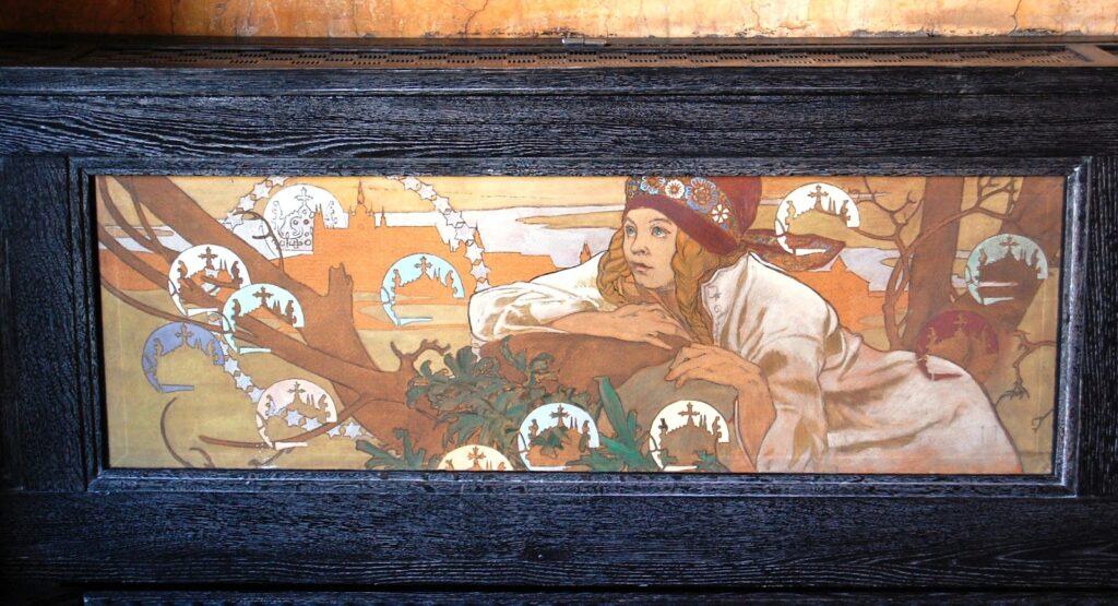 Картина в Музее Альфонса Мухи в Праге
