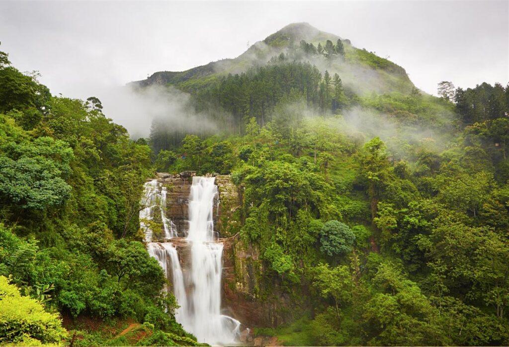 Поездка к водопадам на Шри-Ланке