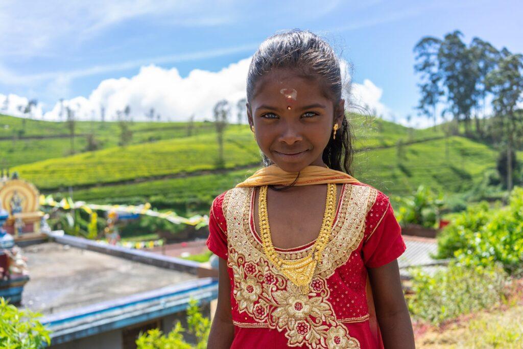 Местные жители на Шри-Ланке фото